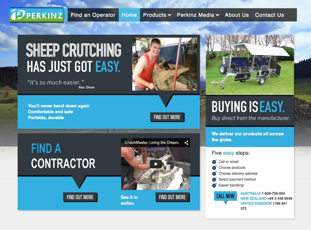 Perkinz Website