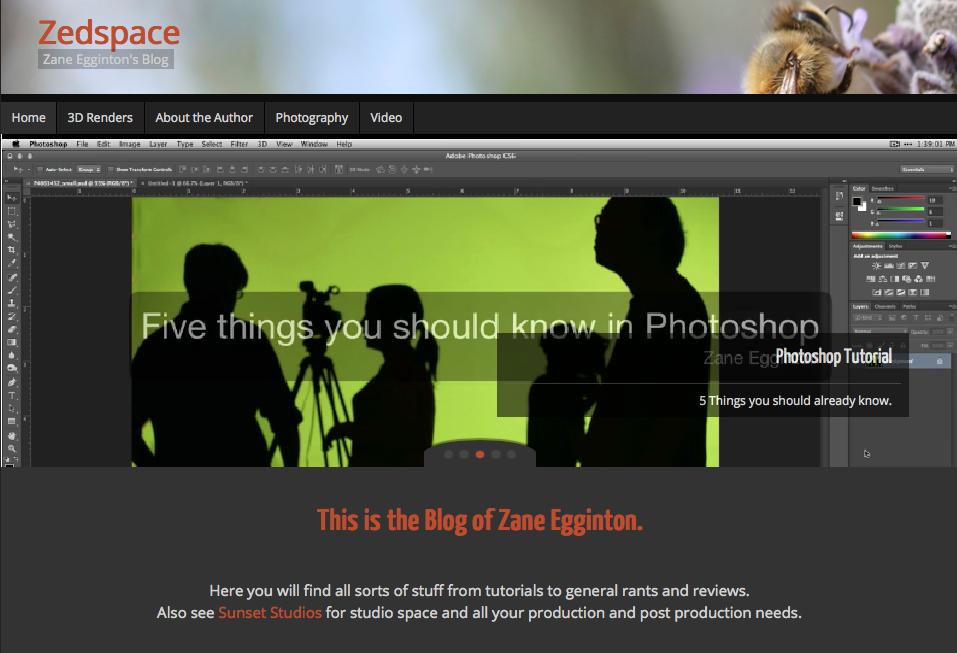 Zedspace Website